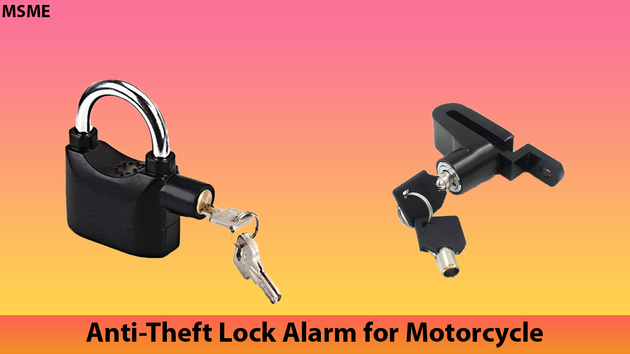 Best Anti-Theft Lock Alarm for Motorcycle