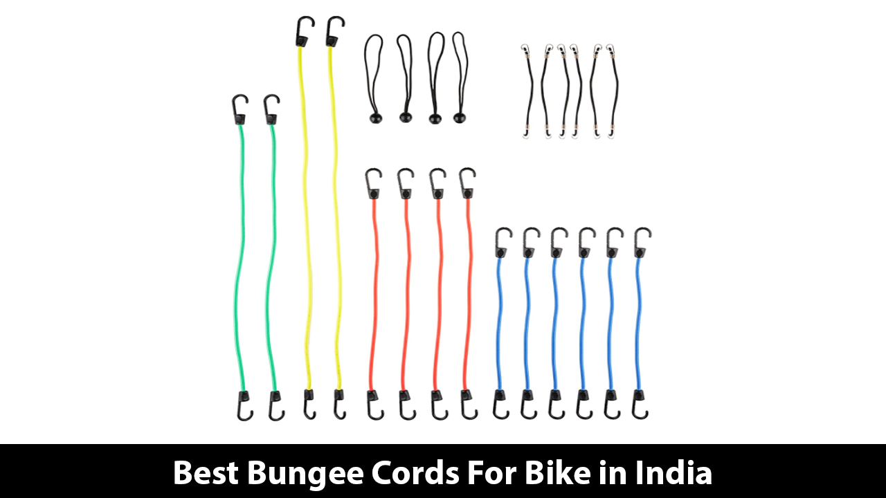 Best Bungee Cords For Bike in India
