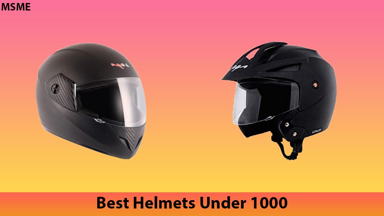 Best Helmets Under 1000