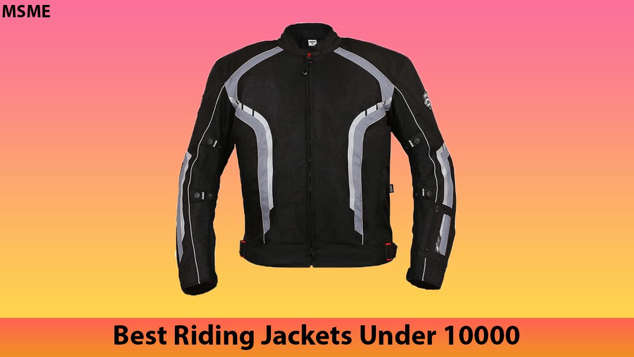 Best Riding Jackets Under 10000