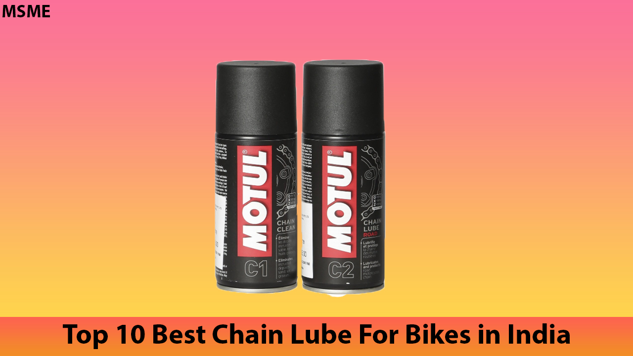 Top 10 Best Chain Lube For Bikes in India